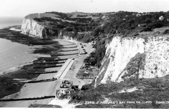St Margaret's Bay from The Leas. 1955