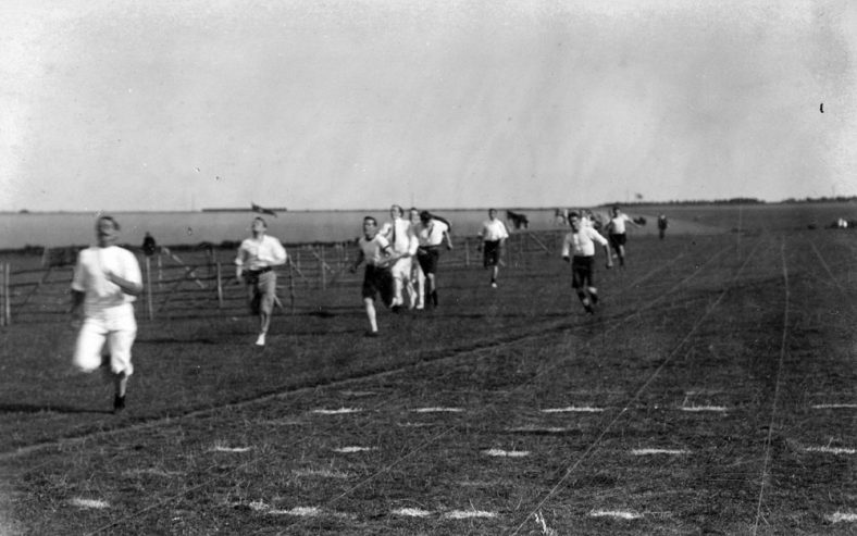 Running Race at St Margaret's Sports Day. 1911