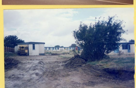 Site clearance and redevelopment of St Margaret's Holiday Camp. 1984 -1985