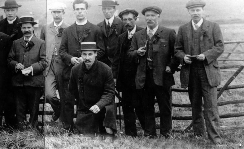 Officials at St Margaret's Sports Day. c1907