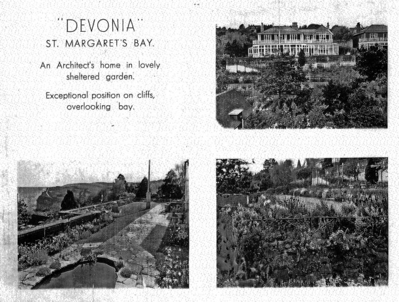 Devonia, Granville Road, one time home of Sir William Madge