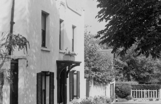 Cliffe Cottage and Cliffe Lodge, Cripps Lane. 1961