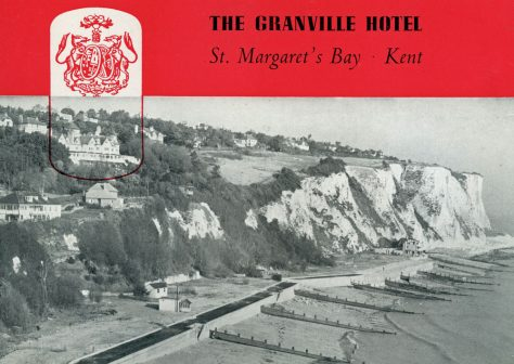The Granville Hotel, cover of a guide book. c1950s