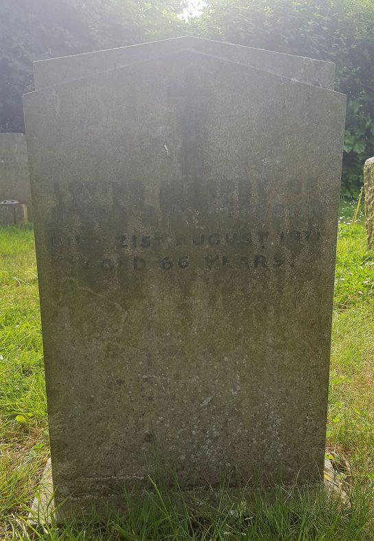 Gravestone of CLAYSON Jesse A M 1971 | Dawn Sedgwick