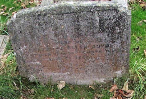 Gravestone of EDWARDS Mary 1947; JOYCE Charlotte Ellen 1963