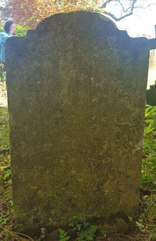 Gravestone of ATKINS Susanna 1822; ATKINS Peter 1821