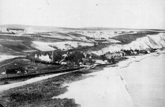 St Margaret's Bay from Ness Point. c1900