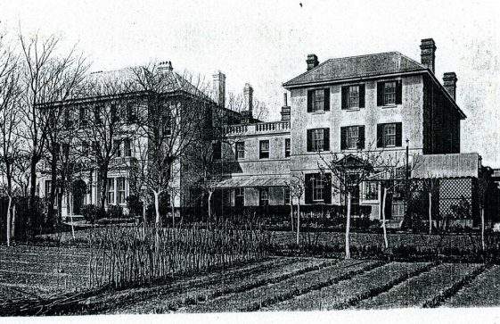 Photocopy of a photograph of Morley House.  Early 20th century [?]