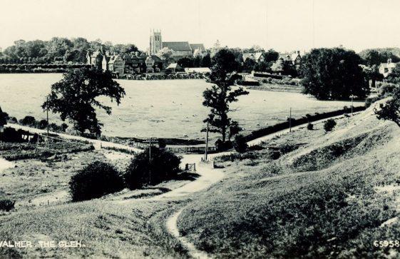 Walmer Hospital ward for St. Margaret's Men during WW1