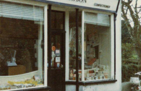 Watson's Baker's shop entrance, Kingsdown Road. 1984