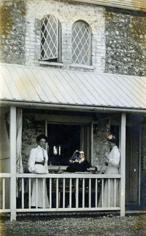 Coastguard Cottages with Atkins family; renovated Coastguard Cottage St Margaret's Bay