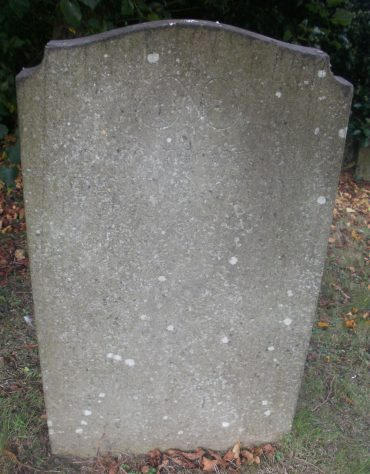 Gravestone of AIKMAN David 1990
