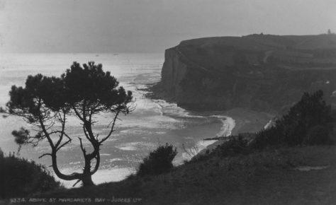 St Margaret's Bay from The Leas. postmark 1930
