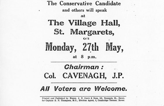 General Election poster for 1929