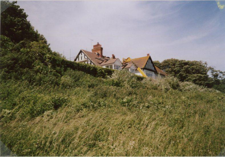Re-roofing 'Corner Cottage East', Granville Road. June 2008