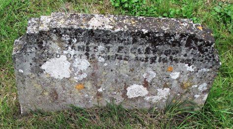 Gravestone of CLAYSON James T E 1940
