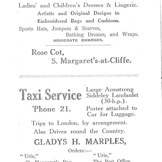 St Margaret's-at-Cliffe Guide 1925, pages 37-45