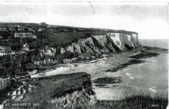 St Margaret's Bay from Ness Point.  c1940