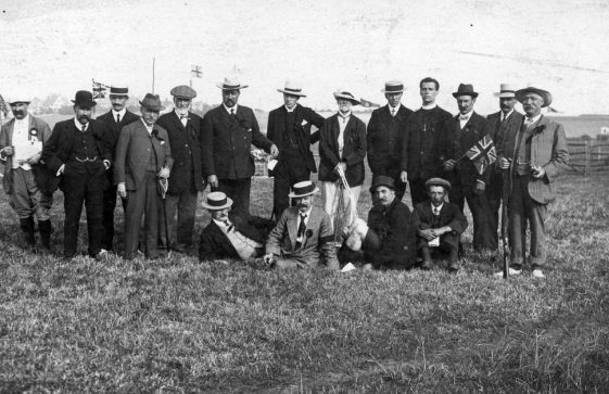 Officials at St Margaret's Sports Day.  c1909