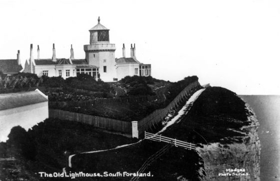 Lower South Foreland Lighthouse.