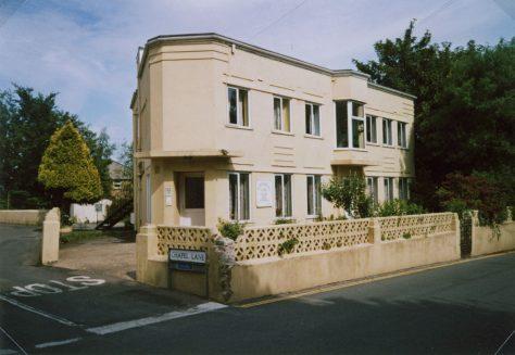 St Margaret's Lodge on the corner of Sea Street and Chapel Lane. 2006