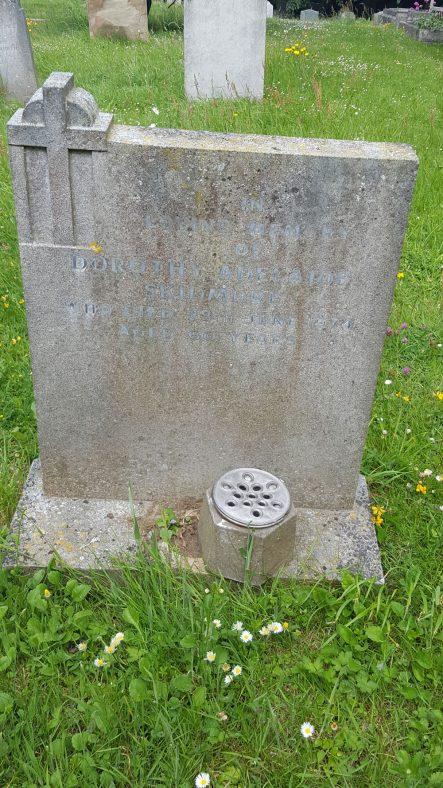 Gravestone of SKIDMORE Dorothy Adelaide 1974   Dawn Sedgwick