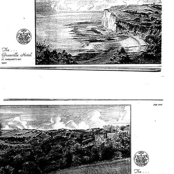 Granville Hotel, Hotel Road: Brochure. Pre 1939