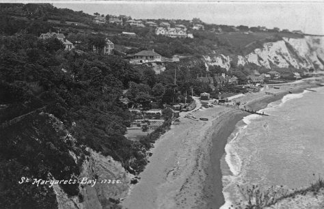 St Margaret's Bay from Ness Point. c1920