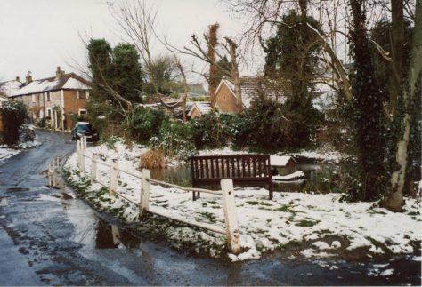 Chapel Lane Pond in Winter. 2005