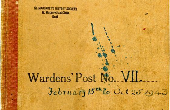St Margaret's ARP (Air Raid Precautions) Log. Volume 7. 15 February 1943 - 25 October 1943. Pages 1-10