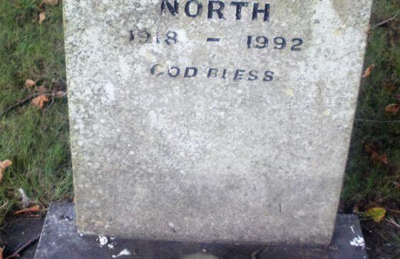 Gravestone of NORTH Alan Victor 1992