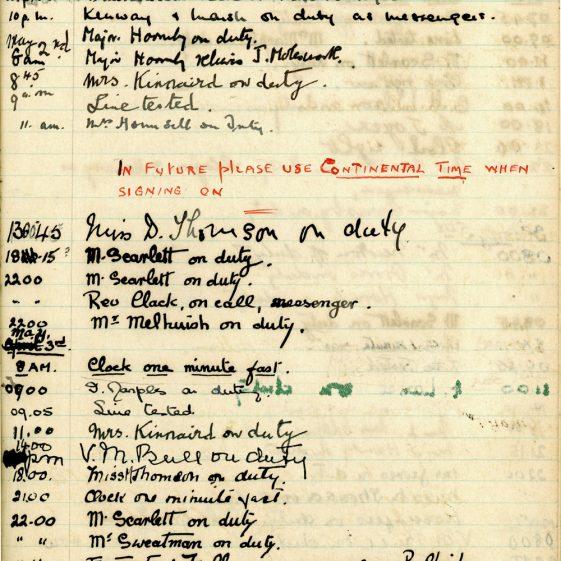 St Margaret's ARP (Air Raid Precautions) Log. Volume 1. 1 September 1939 - 24 July 1940. Pages 81-90
