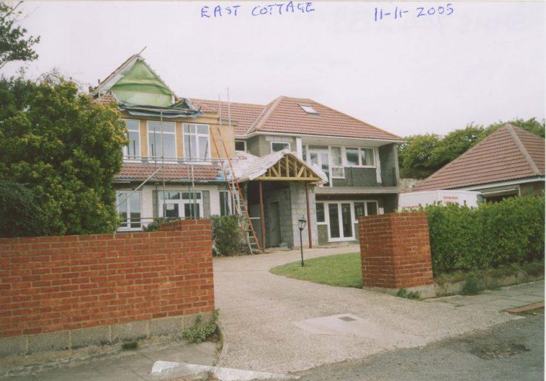 'East Cottage', Granville Road, building works. 2005