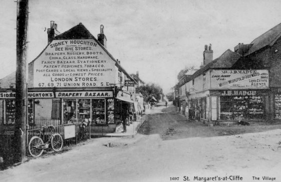 High Street, Beehive Stores and Madge's Stores. c1900