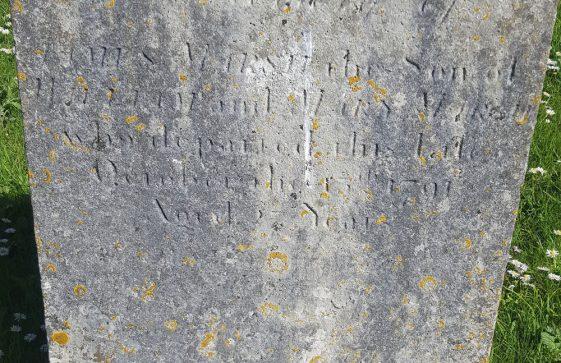 Gravestone of MARSH James 1791