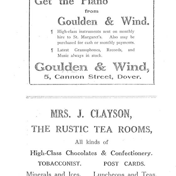 St Margaret's-at-Cliffe Guide 1925, pages 13-24