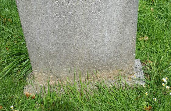 Gravestone of SHEEN Norah 1981