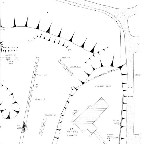 Archaeological Evaluation Report of Westcliffe's New Burial Ground by Dover Archaeology Group.  June 1995