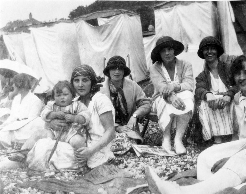 Joan Denoon's first holiday at St Margaret's. 1924