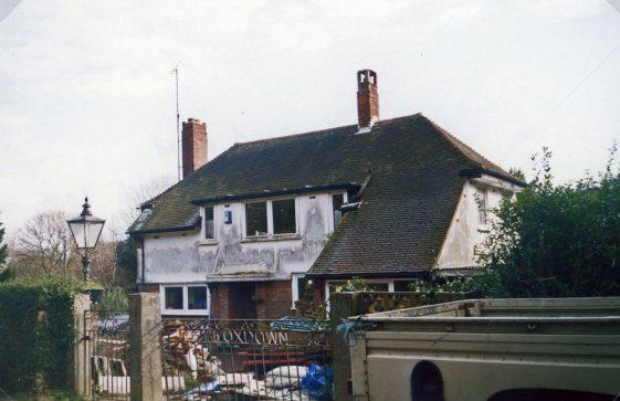 'Foxdown' in Foreland Road. 15 February 2005