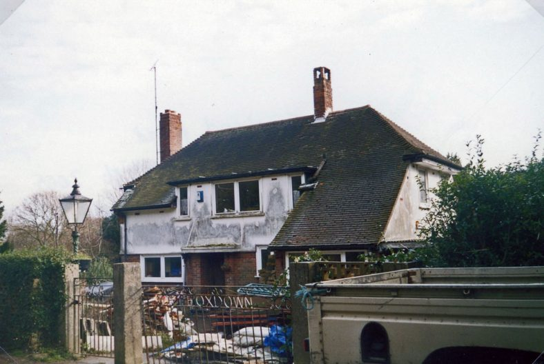 'Foxdown' in Foreland Road. 15 February 2005
