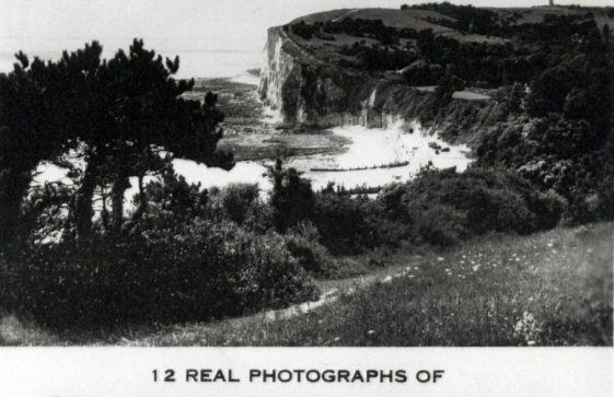St Margaret's Bay from The Leas. pre WW2