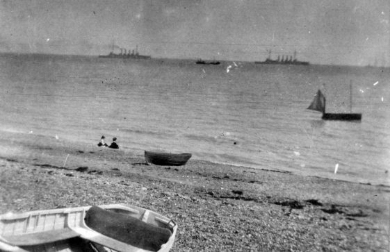 Channel Fleet off St Margaret's Bay. 1906