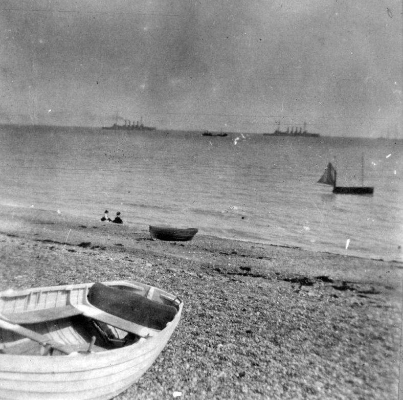 Channel Fleet off St Margaret's Bay. 1906