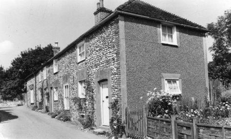 Chapel Lane Cottages, Chapel Lane. Undated.