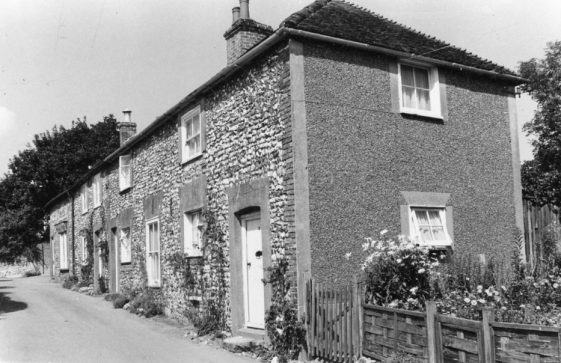 Chapel Lane Cottages, Chapel Lane. Undated.