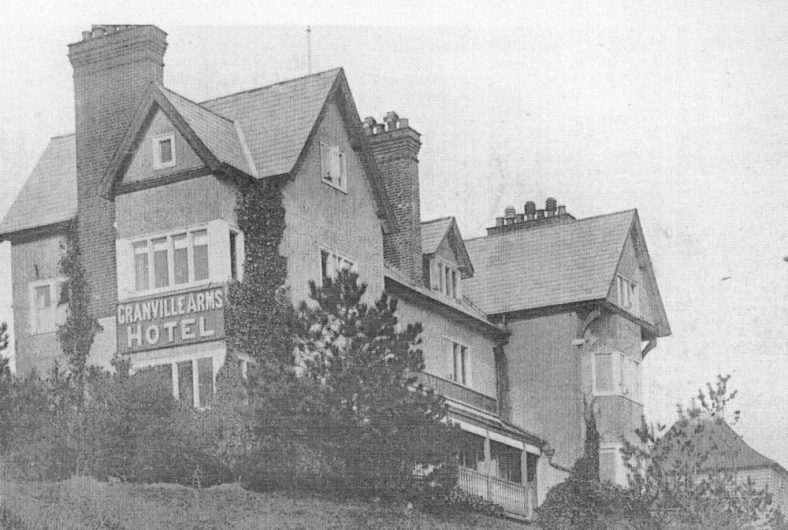 The Granville Arms Hotel, Hotel Road. Undated