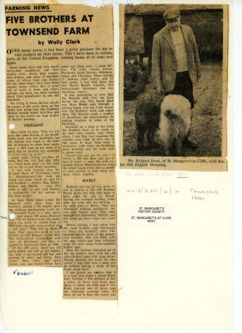 The Husk brothers who worked Townsend Farm. 1932-1970s