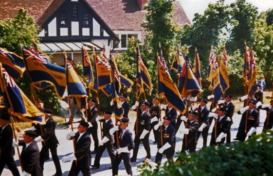 65th Dover Patrol Memorial Service. 15 June 1986