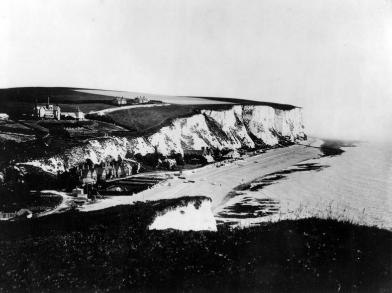 St Margaret's Bay from Ness Point. pre1900